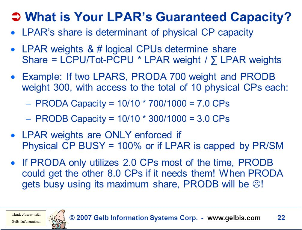  What is Your LPAR's Guaranteed Capacity