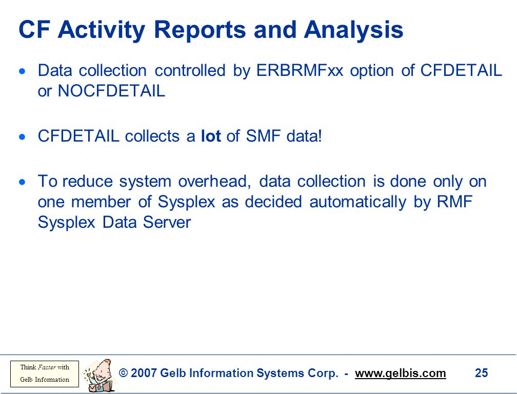 CF Activity Reports and Analysis