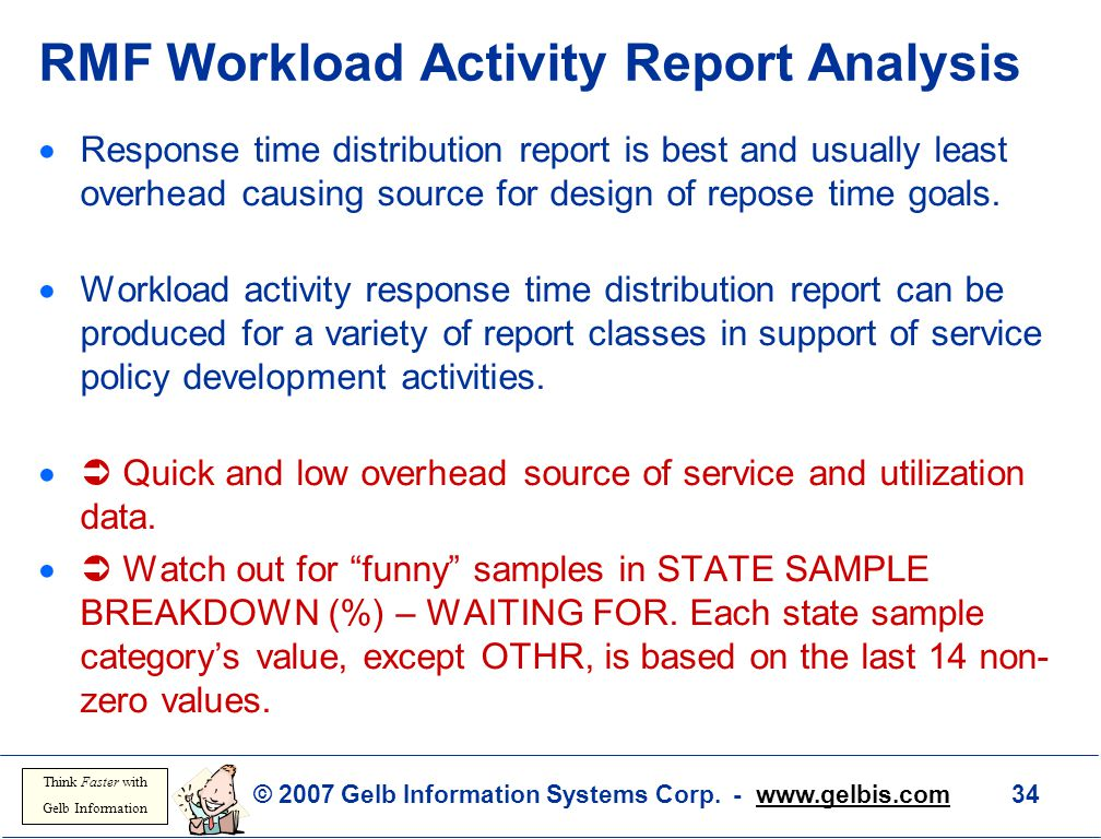RMF Workload Activity Report Analysis