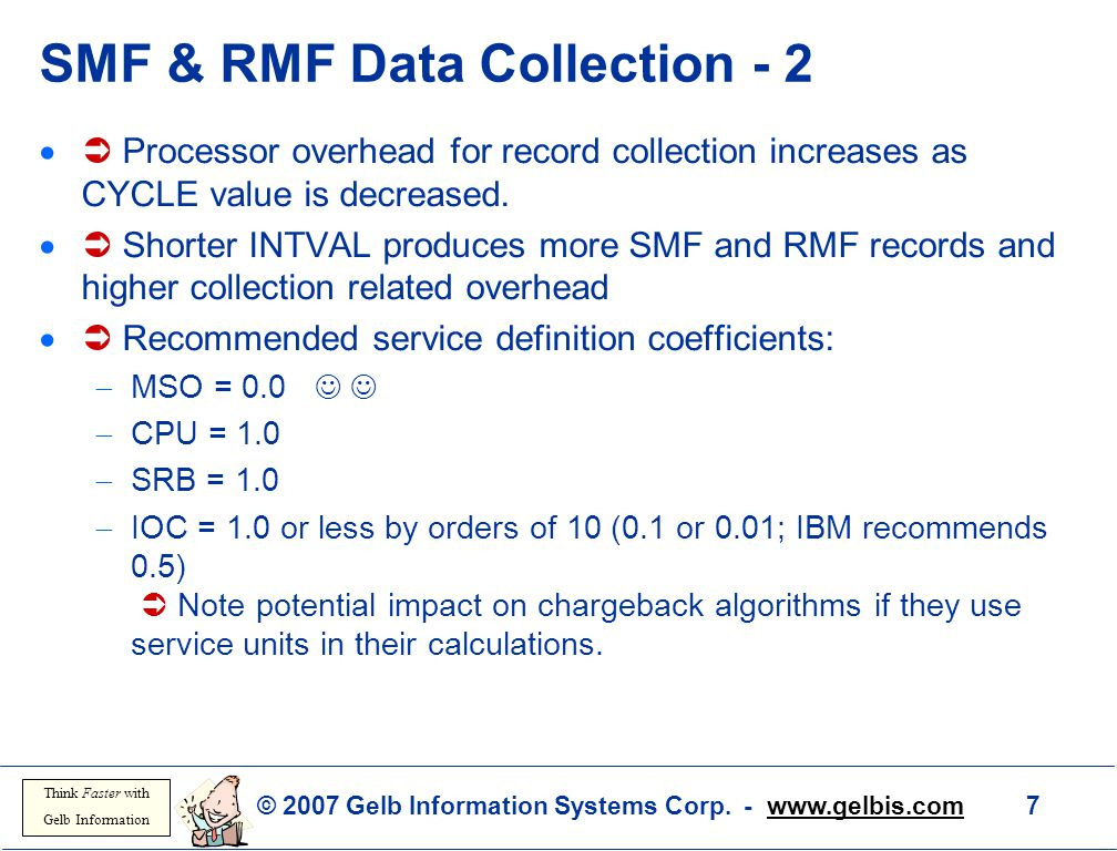 SMF & RMF Data Collection - 2
