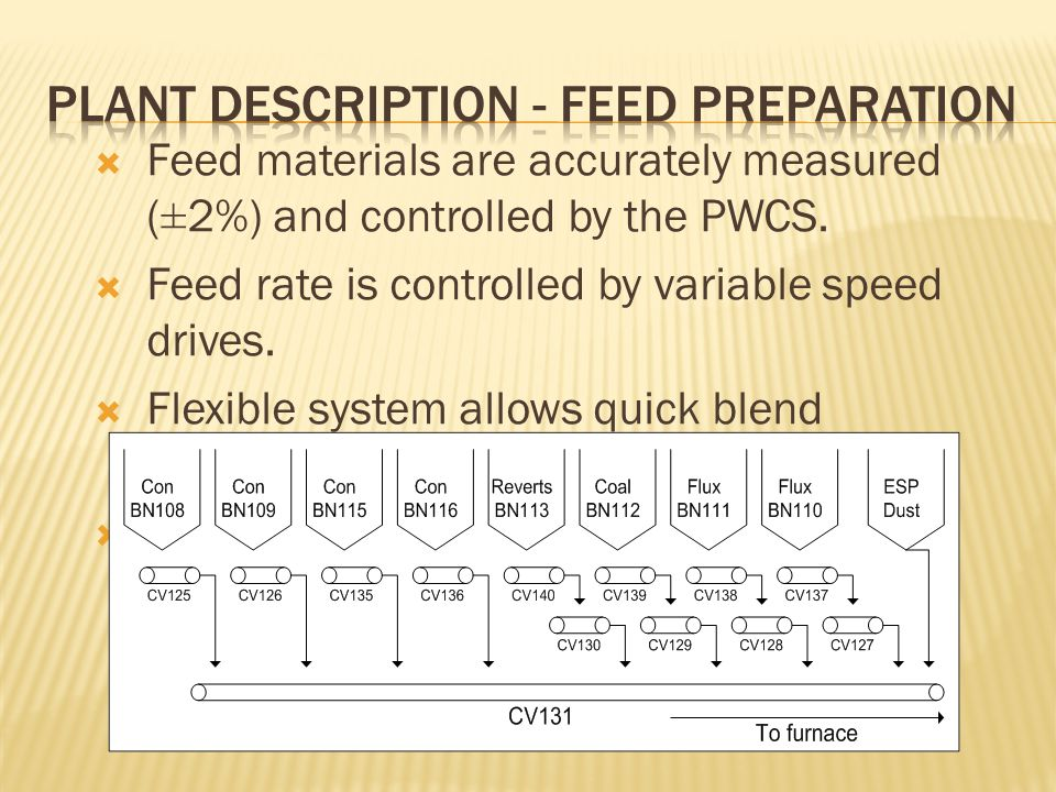 Plant Description - Feed Preparation