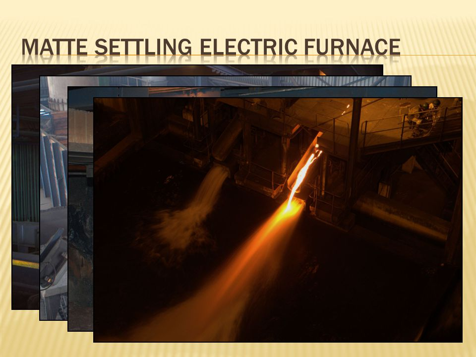 Matte Settling Electric Furnace