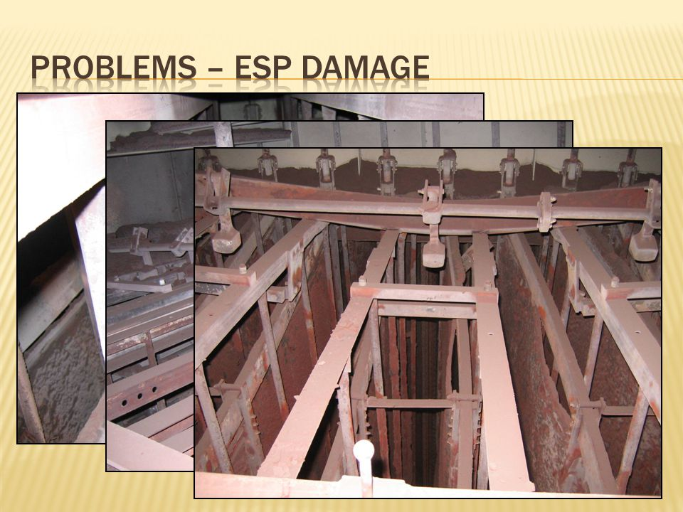 Problems – ESP Damage
