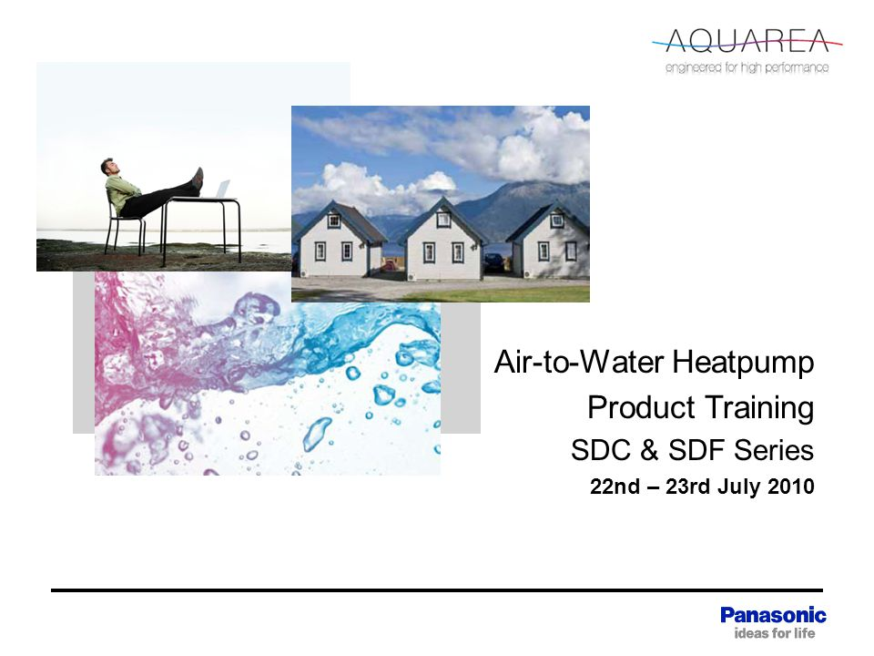 Air-to-Water Heatpump Product Training