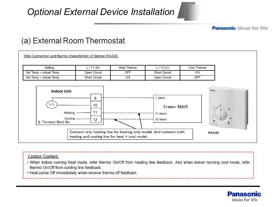 Optional External Device Installation