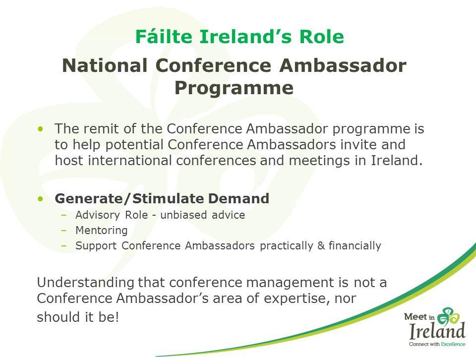 National Conference Ambassador Programme