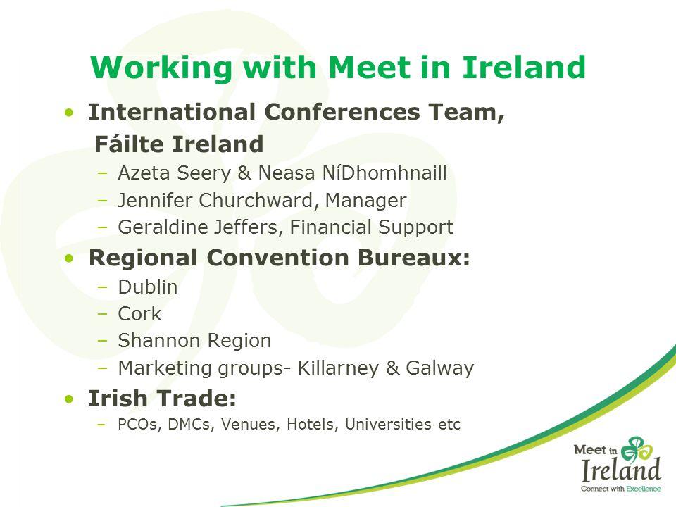 Working with Meet in Ireland