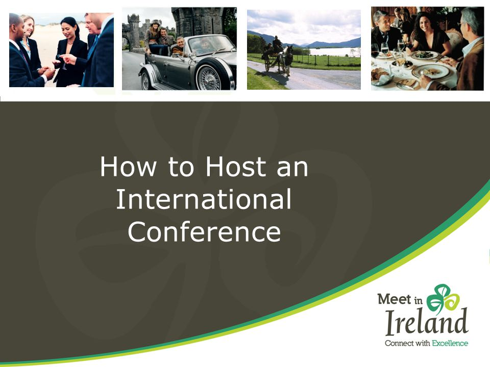 How to Host an International Conference