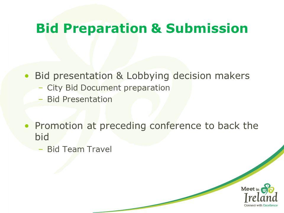 Bid Preparation & Submission