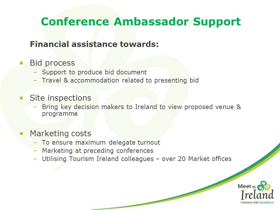 Conference Ambassador Support