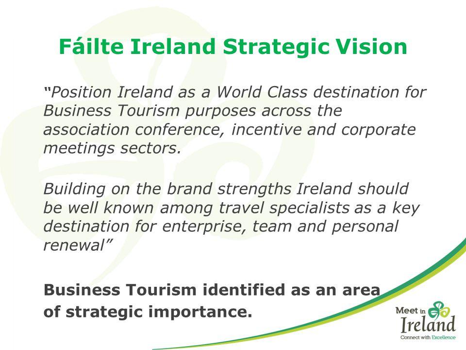 Fáilte Ireland Strategic Vision