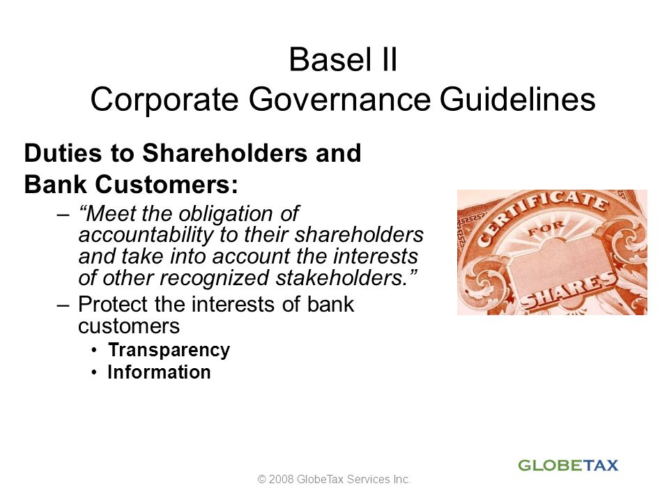 Basel II Corporate Governance Guidelines