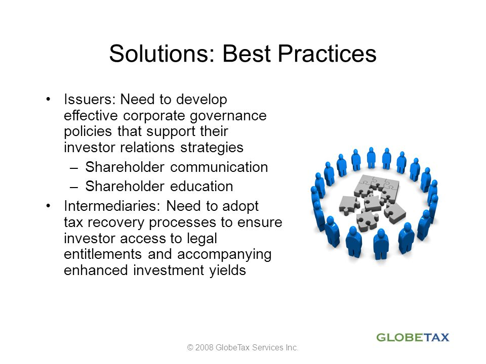Solutions: Best Practices