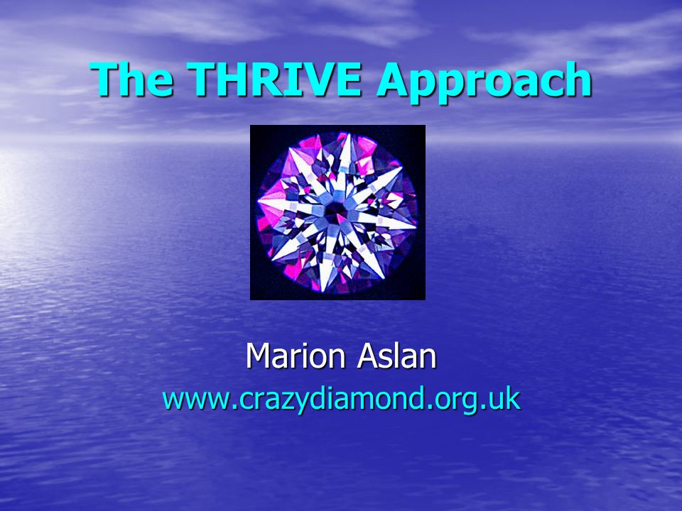 Marion Aslan www.crazydiamond.org.uk