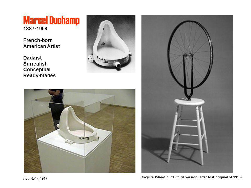 Marcel Duchamp 1887-1968 French-born American Artist Dadaist