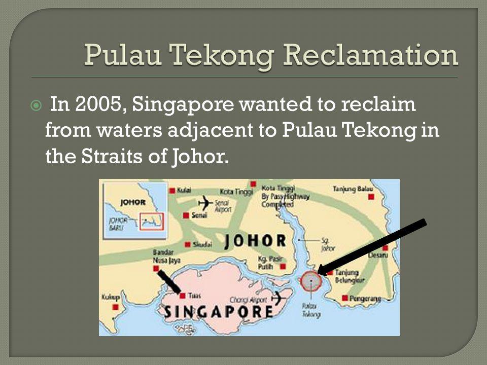 Pulau Tekong Reclamation