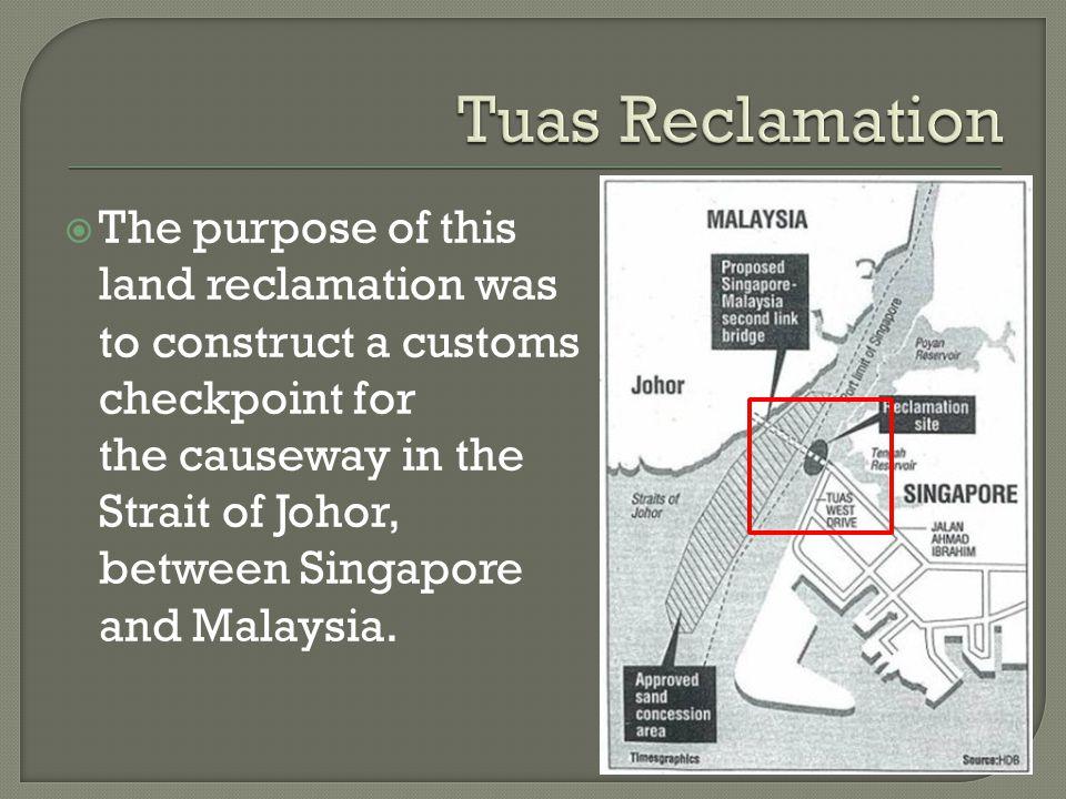 Tuas Reclamation