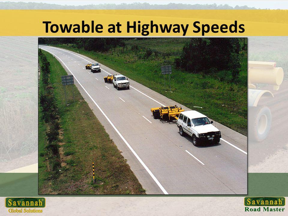 Towable at Highway Speeds