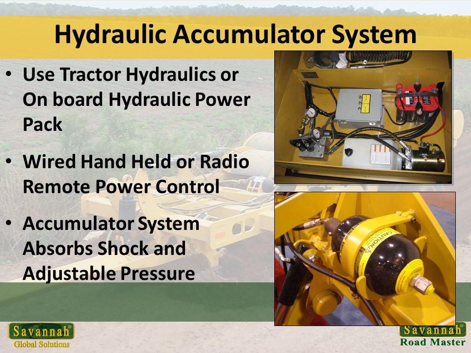 Hydraulic Accumulator System