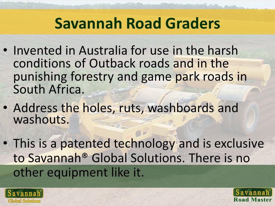 Savannah Road Graders