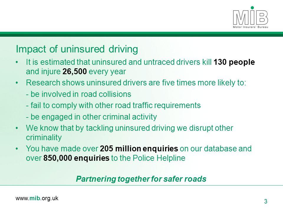 Impact of uninsured driving