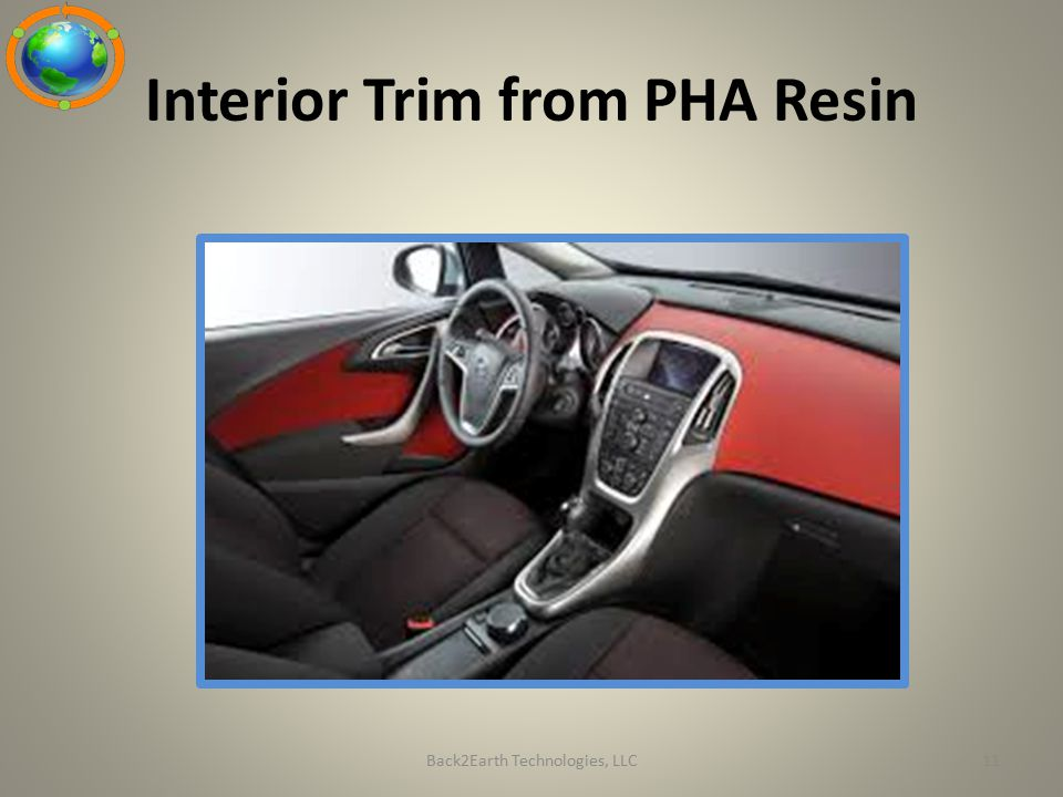 Interior Trim from PHA Resin