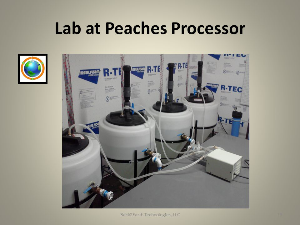 Lab at Peaches Processor