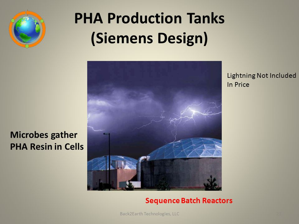PHA Production Tanks (Siemens Design)