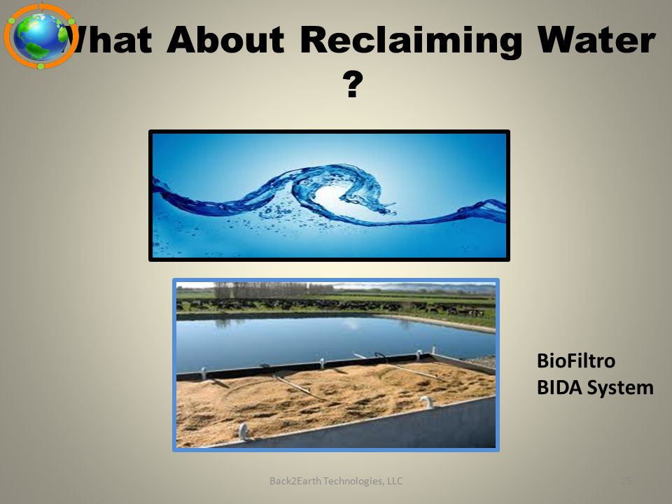 What About Reclaiming Water