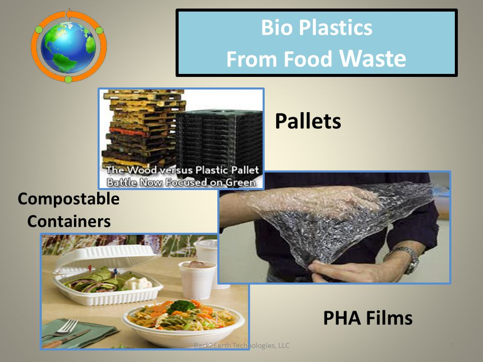 Bio Plastics From Food Waste