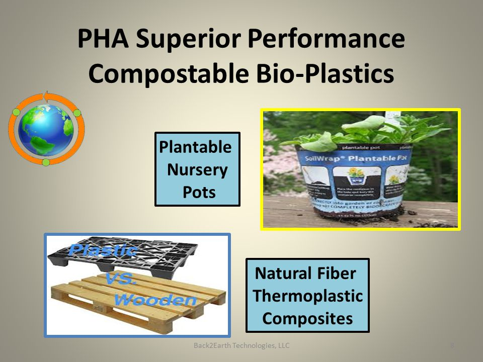 PHA Superior Performance Compostable Bio-Plastics