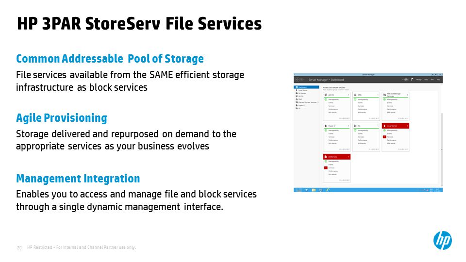HP 3PAR StoreServ File Services
