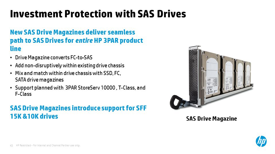 Investment Protection with SAS Drives