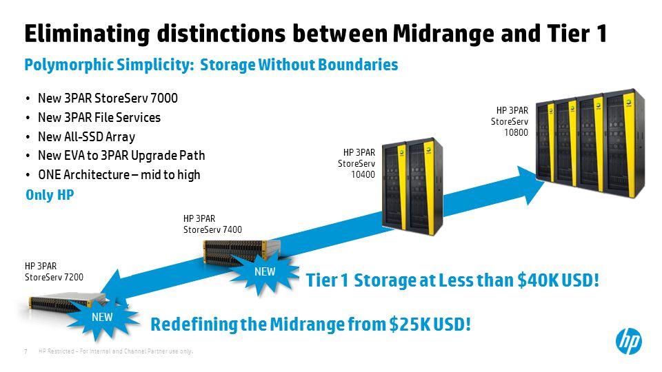 Eliminating distinctions between Midrange and Tier 1