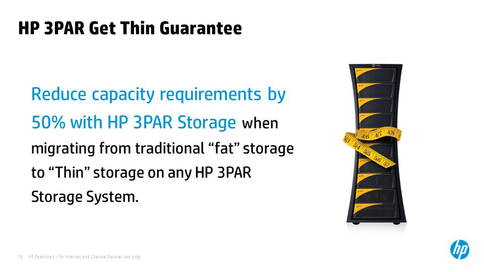 HP 3PAR Get Thin Guarantee