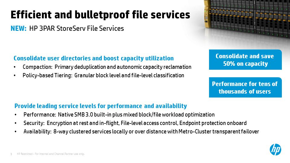 Efficient and bulletproof file services