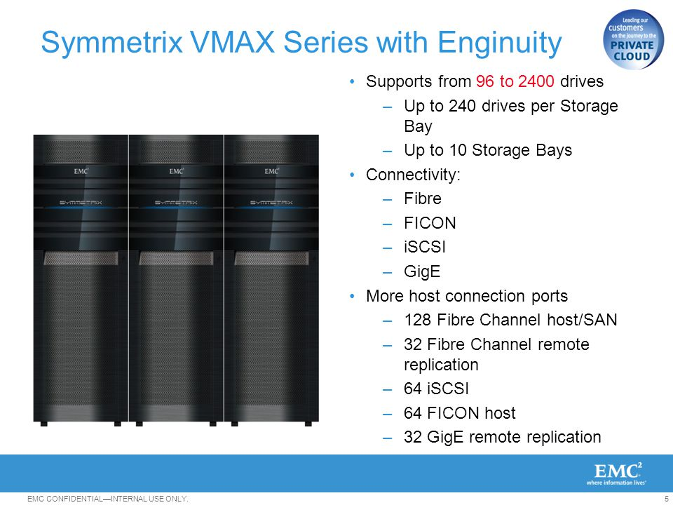 Symmetrix VMAX Series with Enginuity