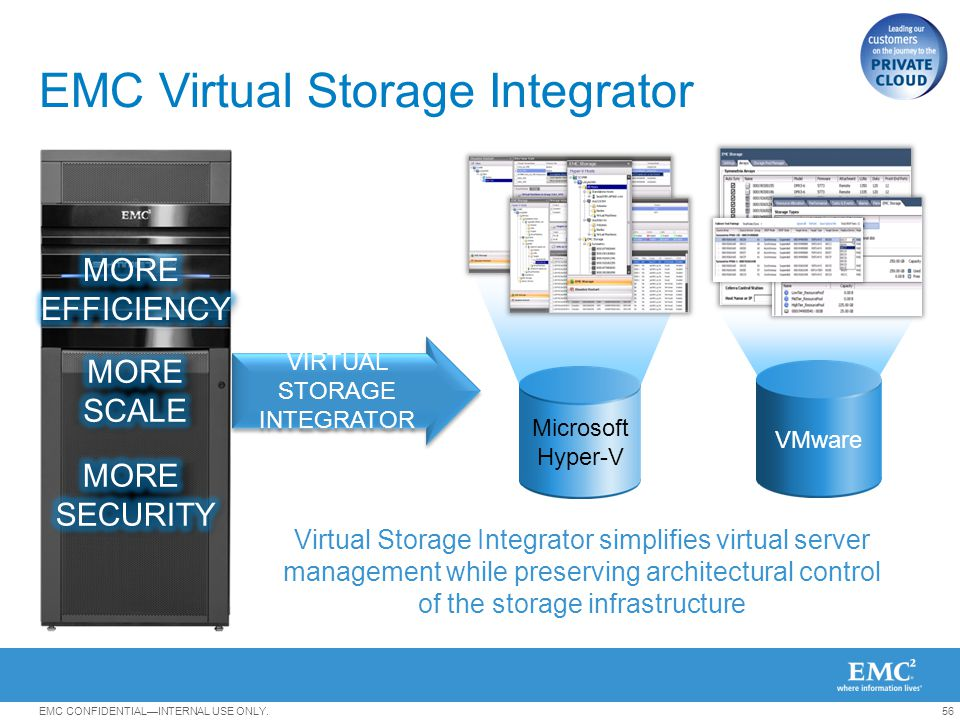EMC Virtual Storage Integrator
