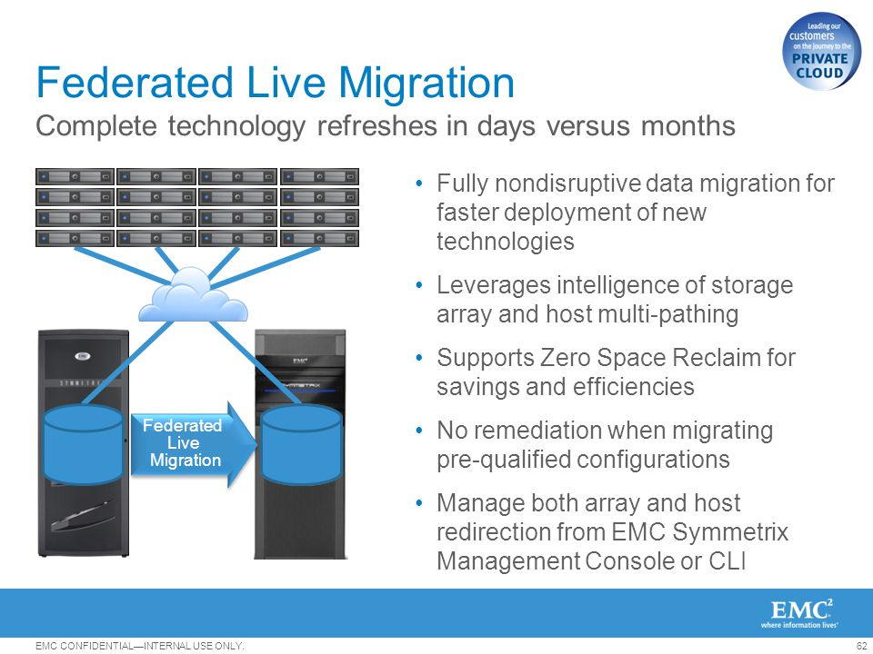 Federated Live Migration