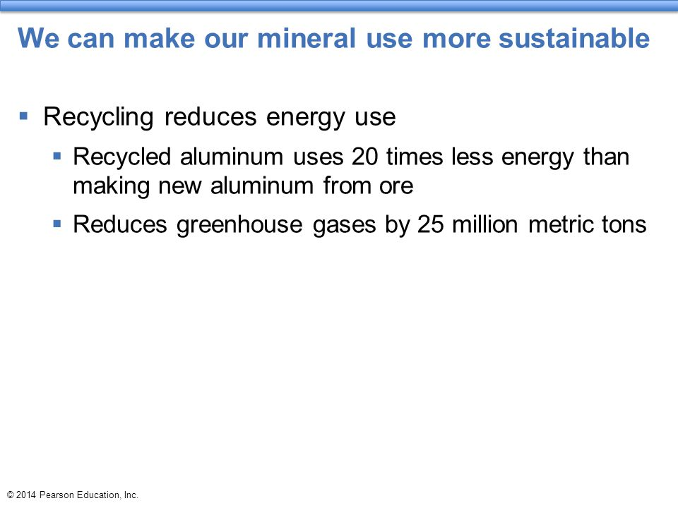 We can make our mineral use more sustainable