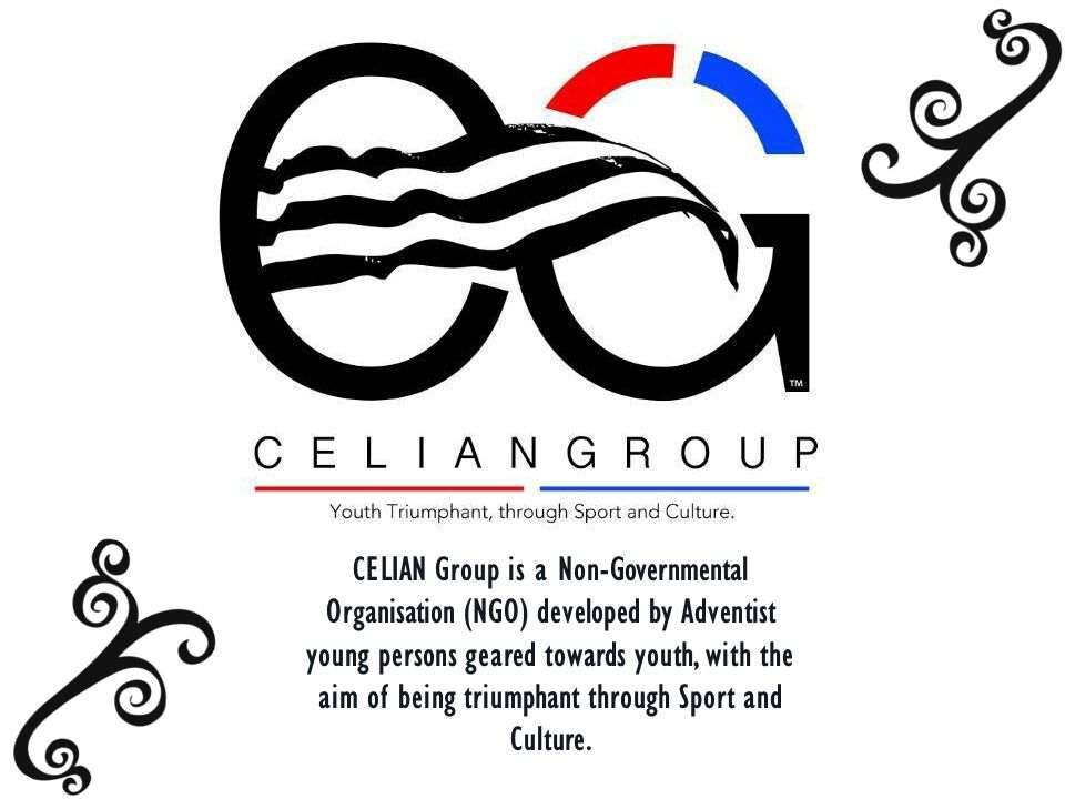 CELIAN Group is a Non-Governmental Organisation (NGO) developed by Adventist young persons geared towards youth, with the aim of being triumphant through Sport and Culture.