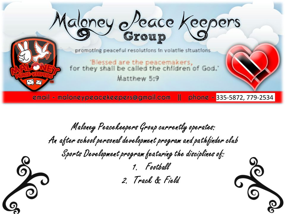Maloney Peacekeepers Group currently operates: