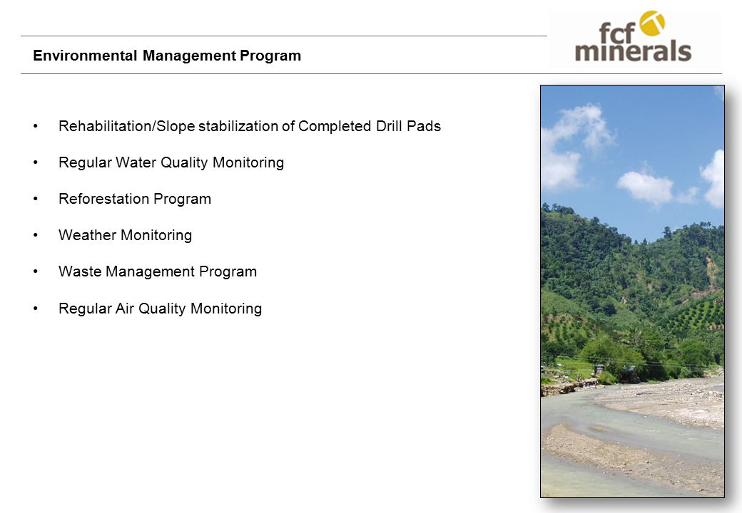 Environmental Management Program