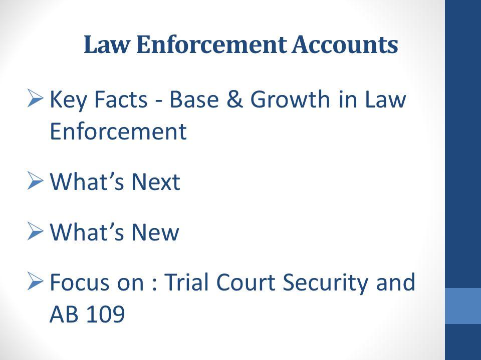 Law Enforcement Accounts