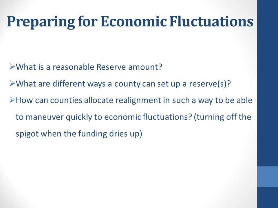 Preparing for Economic Fluctuations