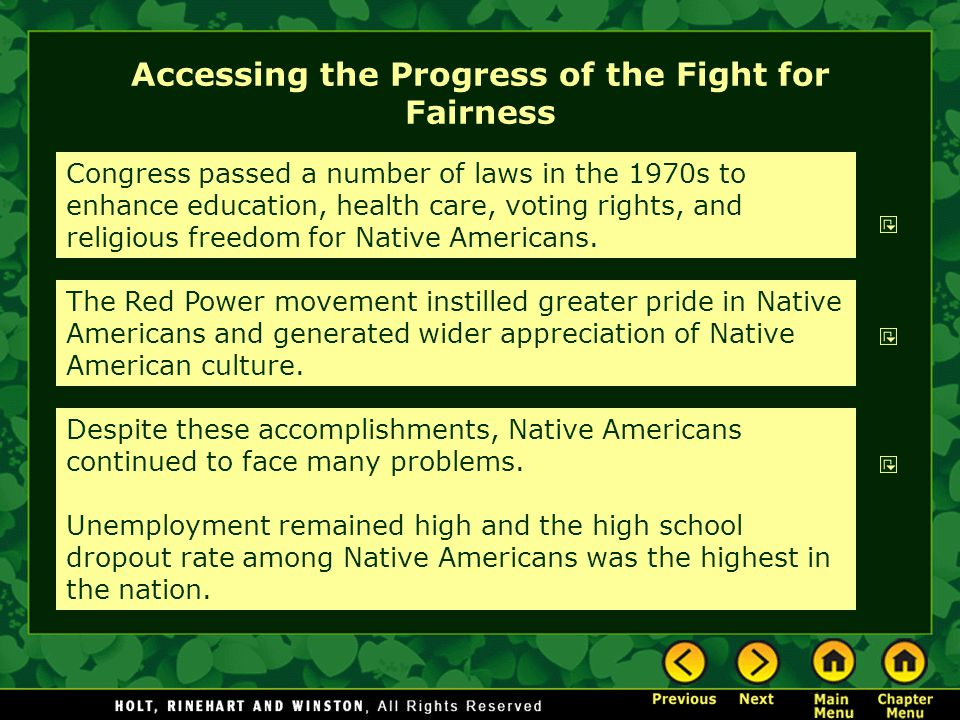 Accessing the Progress of the Fight for Fairness