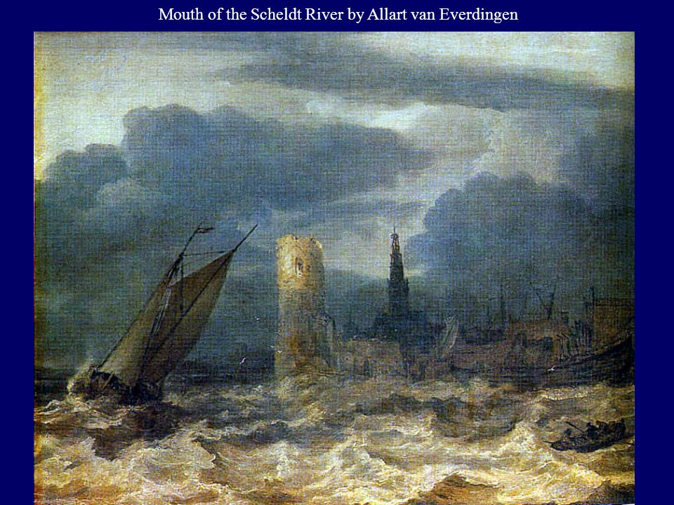 Mouth of the Scheldt River by Allart van Everdingen