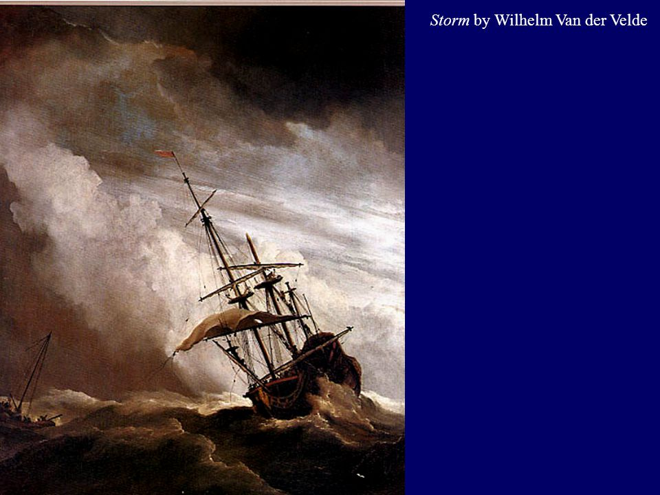 Storm by Wilhelm Van der Velde