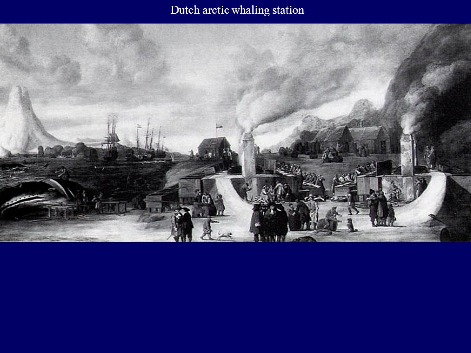 Dutch arctic whaling station