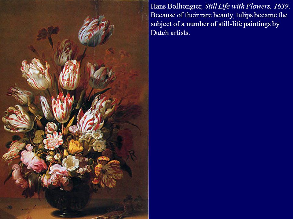 Hans Bolliongier, Still Life with Flowers, 1639